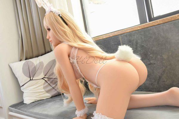 140cm(4ft7') sex doll real body rabbit girl-HiDoll Angelina (32)