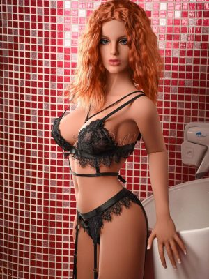 165cm(5ft5') sex with doll realistic sexy red hair-HiDoll Elsa