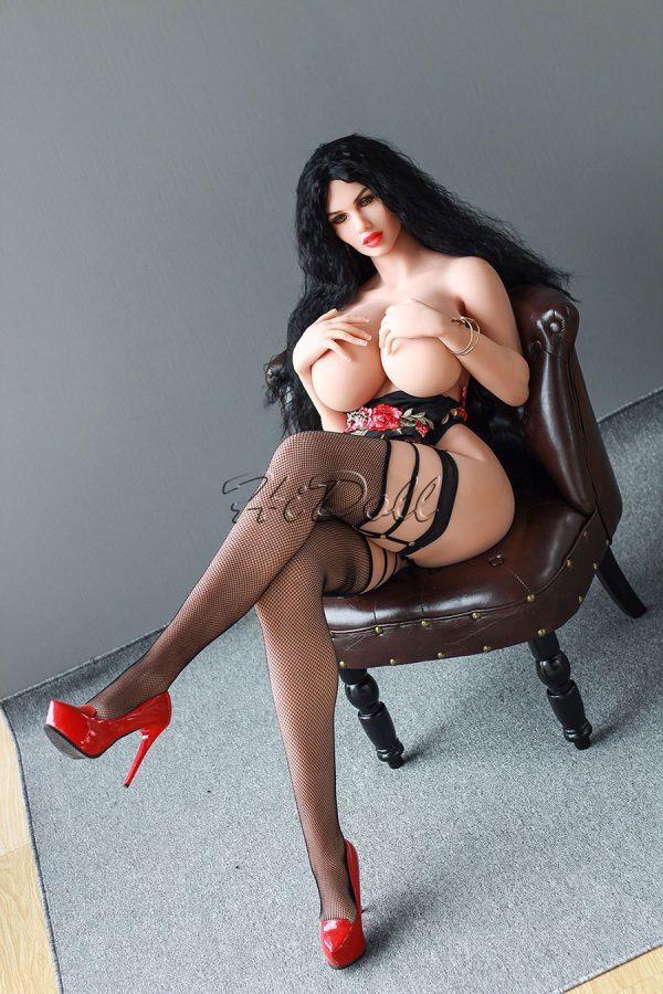 170cm(5ft7')-real-adult-dolls-big-tits-brunette-HiDoll-Elena-(11)