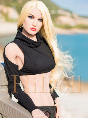 164cm(5ft5′) muscle body sexy blonde doll Nora