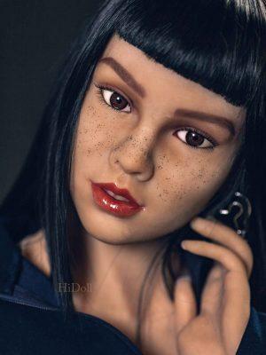 158cm(5ft2′) ebony real doll Chipo
